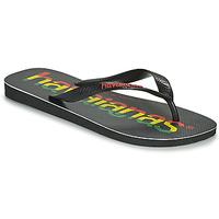 Zapatos Hombre Chanclas Havaianas TOP LOGOMANIA Negro