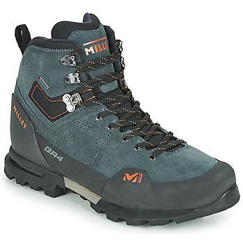 Zapatos Hombre Senderismo Millet GR4 GORETEX Gris / Naranja