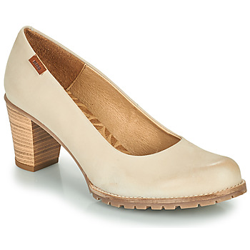 Zapatos Mujer Zapatos de tacón MTNG 51078 Beige