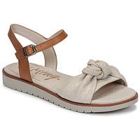 Zapatos Mujer Sandalias MTNG 50506 Beige