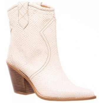 Zapatos Mujer Botines Sommits 8080 Beige