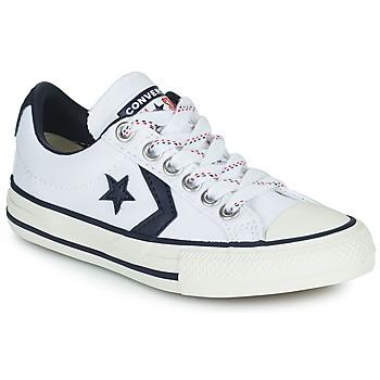 Zapatos Niños Zapatillas bajas Converse STAR PLAYER OX Blanco / Negro