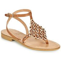 Zapatos Mujer Sandalias Tosca Blu PERLA Camel