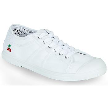 Zapatos Mujer Zapatillas bajas Le Temps des Cerises BASIC LACE Blanco