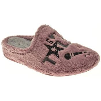 Zapatos Niña Pantuflas Garzon ZAPATILLAS NIÑA  MALVA Violeta