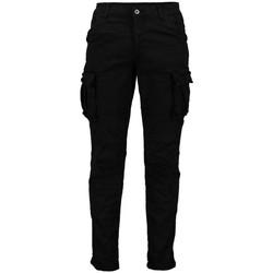 textil Hombre Pantalón cargo Scout Pantalones  Cargo Hombre Azul (pnt2466-negro) Negro