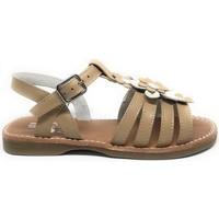 Zapatos Niña Sandalias D'bébé 24526-18 Marrón
