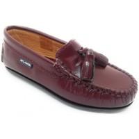 Zapatos Niños Mocasín Atlanta 24268-18 Burdeo