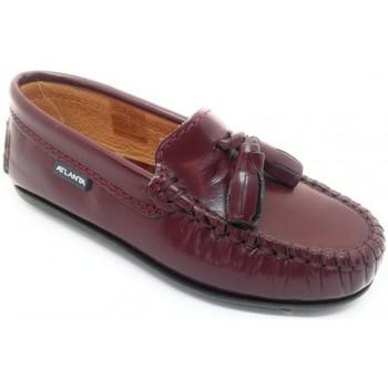 Zapatos Niños Mocasín Atlanta PO 01 6G Burdeos Burdeo