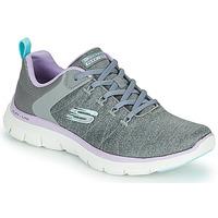 Zapatos Mujer Zapatillas bajas Skechers FLEX APPEAL 4.0 Gris / Pink