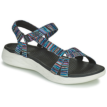 Zapatos Mujer Sandalias Skechers ON THE GO 600 ELECTRIC Multicolor