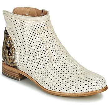 Zapatos Mujer Botas de caña baja Muratti REBAIS Marfil