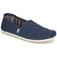 Zapatos Hombre Alpargatas Toms CORE Azul