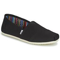 Zapatos Hombre Alpargatas Toms CORE Negro