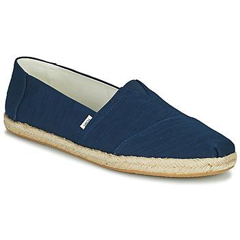 Zapatos Hombre Alpargatas Toms ALPARGATA ROPE Azul