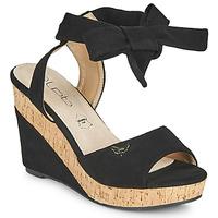 Zapatos Mujer Sandalias Les Petites Bombes BELA Negro