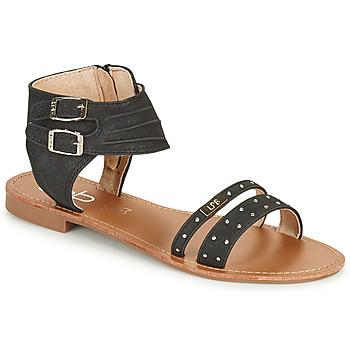 Zapatos Mujer Sandalias Les Petites Bombes BELIZE Negro
