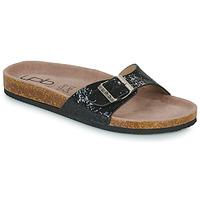 Zapatos Mujer Zuecos (Mules) Les Petites Bombes ROSA Negro