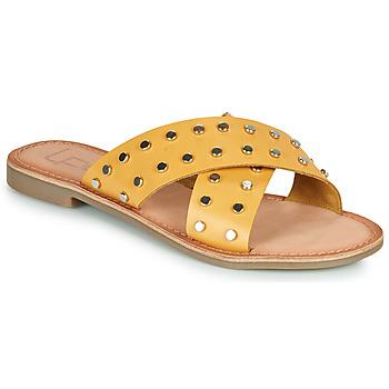 Zapatos Mujer Zuecos (Mules) Les Petites Bombes BELMA Amarillo