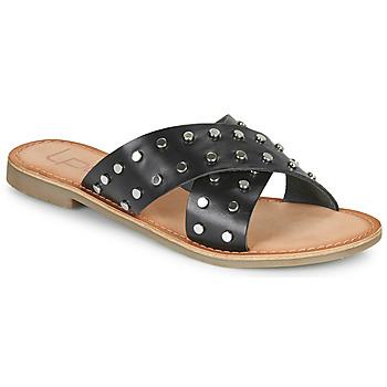 Zapatos Mujer Zuecos (Mules) Les Petites Bombes BELMA Negro