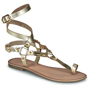 Zapatos Mujer Sandalias Les Petites Bombes BLEONA Oro