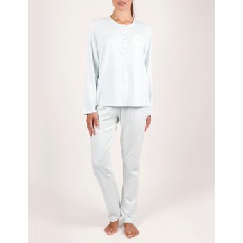 textil Mujer Pijama Admas Ropa interior de pijamas y pantalones Tapeta Azul Turquoise