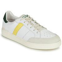 Zapatos Hombre Zapatillas bajas Serafini WIMBLEDON Blanco / Verde / Amarillo