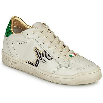 Zapatos Mujer Zapatillas bajas Serafini SAN DIEGO Blanco / Verde