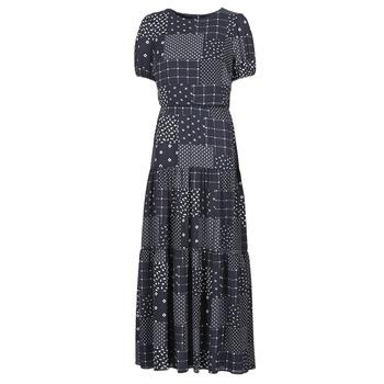 textil Mujer Vestidos largos Lauren Ralph Lauren MYRIAM Marino