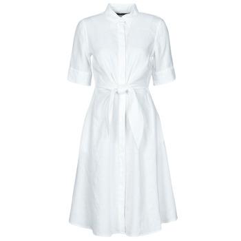 textil Mujer Vestidos cortos Lauren Ralph Lauren WAKANA Blanco
