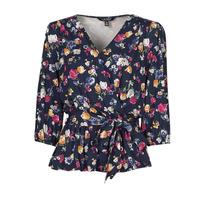 textil Mujer Camisetas manga corta Lauren Ralph Lauren SHIANETA Multicolor