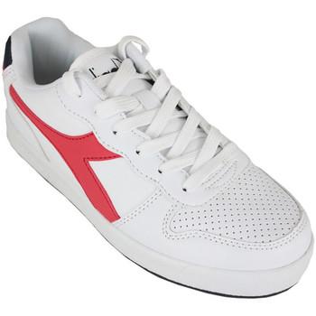 Zapatos Zapatillas bajas Diadora playground gs c0673 Rojo