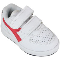 Zapatos Niños Zapatillas bajas Diadora playground td c0673 Rojo
