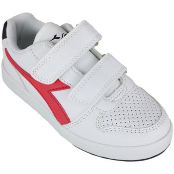Zapatos Niños Zapatillas bajas Diadora playground ps c0673 Rojo