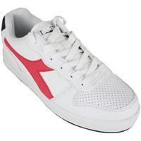 Zapatos Niños Zapatillas bajas Diadora playground gs c0673 Rojo