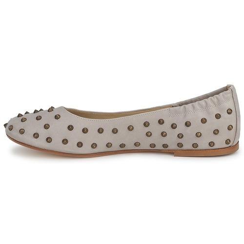 Beige Crotone Mujer Bailarinas manoletinas Zapatos Now WdCxBroe