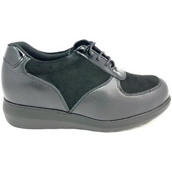 Zapatos Mujer Derbie Pinoso's 7673-H NEGRO NEGRO