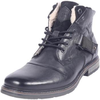 Zapatos Hombre Botas de nieve Bugatti Vándalo II Black