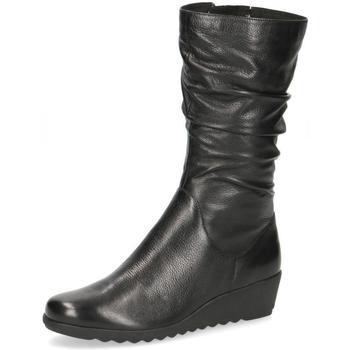 Zapatos Mujer Botas urbanas Caprice Botas Cuñas Negro Black