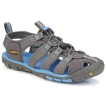 Zapatos Mujer Sandalias de deporte Keen CLEARWATER CNX W Gris / Azul