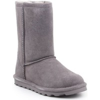 Zapatos Mujer Botas de nieve Bearpaw Elle Short Grises
