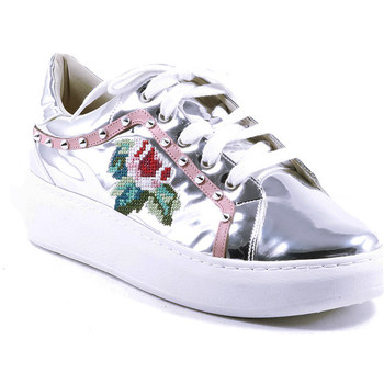 Zapatos Mujer Zapatillas bajas Parodi Passion 73/3814/01 Plata