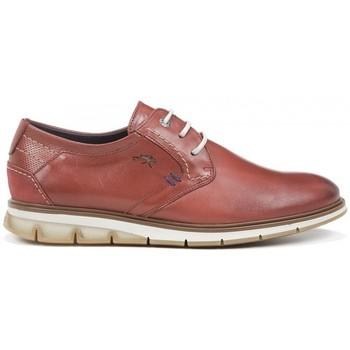Zapatos Hombre Derbie Fluchos Kemp F0776 Rojo Terracota Rojo
