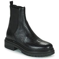 Zapatos Mujer Botas de caña baja Minelli LAMINA Negro