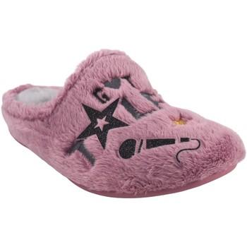 Zapatos Niña Pantuflas Garzon Ir por casa niña  n4526.275 malva Rosa