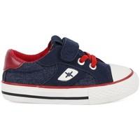 Zapatos Niño Zapatillas bajas Chika 10 Lona Marino Azul