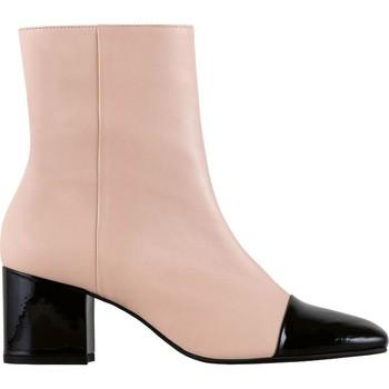 Zapatos Mujer Botines Högl Jane desnuda Schwarz Beige
