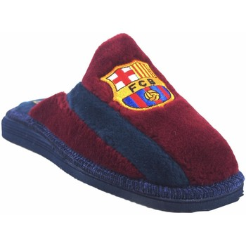 Zapatos Hombre Pantuflas Andinas Ir por casa caballero  590-50 burdeos Rojo
