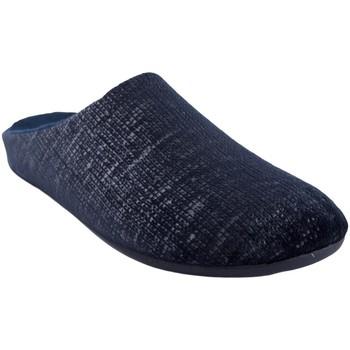 Zapatos Hombre Pantuflas Calzamur Ir por casa caballero  540 azul Azul