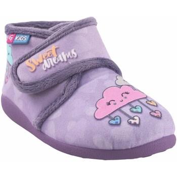 Zapatos Niña Pantuflas para bebé Garzon Ir por casa niña  n4053.246 malva Gris